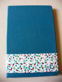 Handmade Notebook  Blue and red circles by teverdemx on Etsy, $9.00