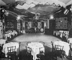 Connie's Inn, pictured, booked jazz acts like Louis Armstrong, Fats Waller, and Fletcher Henderson