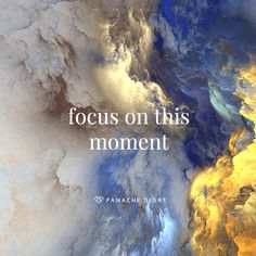 Focus on this Moment