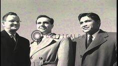 The three surviving members of the Iwo Jima flag raising: Ira Hayes, Ren...