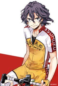 Cycling Art, Cycling Bikes, Yowamushi Pedal, Bicycle Art, My Neighbor Totoro, Hot Anime Guys, Naruto And Sasuke, Manga Characters, Cover Pics