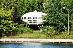 FUTURO HOUSE PAR MATTI SUURONEN – 1968