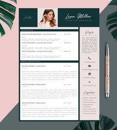 To get the job, you a need a great resume. The professionally-written, free resume examples below can help give you the inspiration you need to build an impressive resume of your own that impresses… Resume Cv, Resume Tips, Resume Design, Free Resume Examples, Creative Resume Templates, Fashion Resume, Fashion Cv, Cv Cover Letter, Japanese Graphic Design