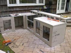 modular outdoor kitchen tall bin how to build your own for a fraction of the cost cabinets kits incredible inspiration 2 fuego