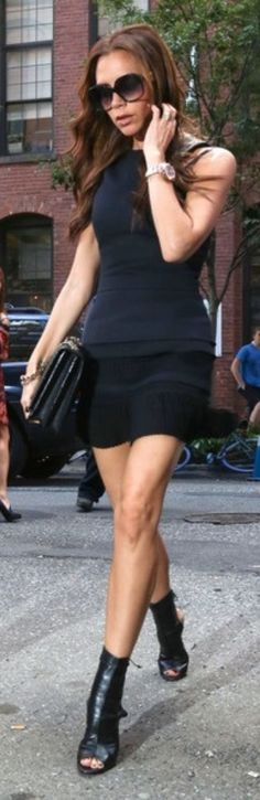 V.B. Black Dress
