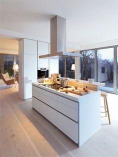 B1 #kitchen with island by Bulthaup #minimal #design