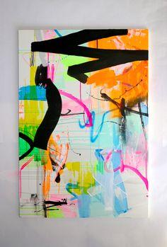 CBA / TyphoonP60 size. 1300 x 900 mmAcrylic on canvas