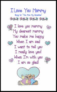 Printable Poem Flower Pot for Mother's Day   Keepsakes, Mother's ...