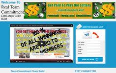 A custom Florida Lotto Magic website by team member Jason Williams Magic Website, Magic Team, Jason Williams, Lottery Tickets, Team Member, Workplace, Florida, Social Media, How To Get