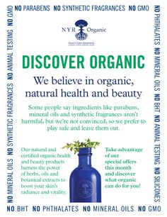 Because skin is the largest organ of the body and it matters what men put on their skin, too! https://us.nyrorganic.com/shop/Sabrina_Thomas/area/shop-online/