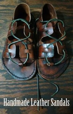 How to make your own leather sandals — Full tutorial.