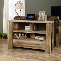 Sauder Boone Mountain Anywhere Console Table/TV Stand | Jet.com