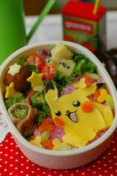 Pokemon Character valve: peer k during lunch