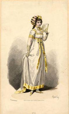 Dress, 1810 :: Fashion Plate Collection, 19th ...