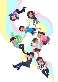 O Tv, Youtube Gamer, Ship Art, Dream Team, Cool Wallpaper, Cute Art, Youtubers, Nerdy, Best Friends