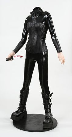 1044: Kate Beckinsale costume from Underworld Evolution : Lot 1044
