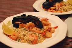 Mussel & Shrimp Risotto / Risotto so slávkami a krevetami