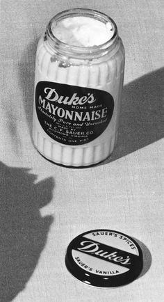an ode to duke's mayo