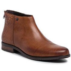 Botine LASOCKI – WI16-ENNA2-06 Camel Chelsea Boots, Camel, Shoes, Fashion, Men Styles, Keep Running, Scale Model, Leather, Moda