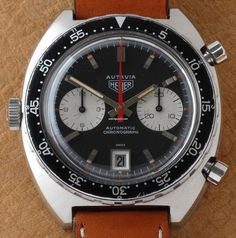 ed652e6e816 Heuer Autavia 1163 MH Ridged Markers MK 2    watchPool24 Relógios Masculinos