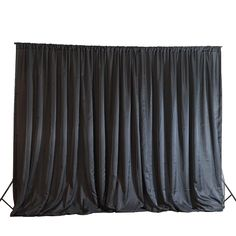 20 ft x 10 ft Chiffon Fabric Backdrop Curtain Photography Backdrop - Black Burlap Backdrop, Fabric Backdrop, Backdrop Photobooth, Halloween Backdrop, Glitter Backdrop, Halloween Dance, Halloween Ideas, Halloween Party, Halloween Decorations