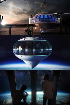 On a Balloon to the Edge of Space with Spaceship Neptune