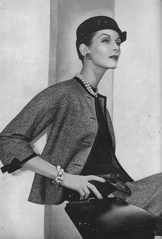 December Vogue 1955