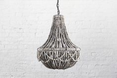lighting / clay bead 'frill' chandelier [ by klaylife™ ]