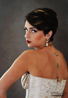 Boudoir Model: Tiahna Cayce MUA: Makeup by Kimber Leigh  Photo: LM Photography, Boudoir by Lisa