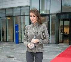 Princess Marie as Patron of the National Association for Autism attended a project meeting in Bagsvaerd.19/11/2014