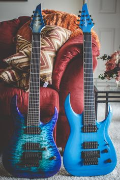 Jackson Custom Shop 7 Strings (Owned by Misha Mansoor)