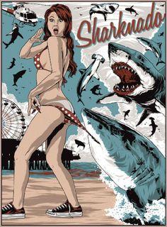 A Roundup of Sharknado Tribute Art | Mental Floss