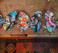 Jafabrit's Art: Graffiti Butterflies