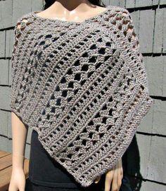 Poncho, of als sjaal