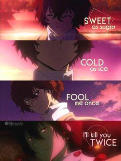 don't mess with someone who says that everythi. - , Anime Memes - My Manga Sad Anime Quotes, Manga Quotes, Stray Dogs Anime, Bongou Stray Dogs, True Quotes, Funny Quotes, Funny Memes, Funny Dogs, Open Quotes