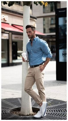 Outfit Hombre Casual, Formal Casual Outfits, Summer Business Casual Outfits, Smart Casual Outfit, Business Casual Men, Smart Casual Men Work, Smart Casual Menswear Summer, Work Outfit Men, Casual Boots