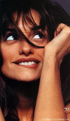 Penélope Cruz - she is sooo good in every movie she plays in - great actress!