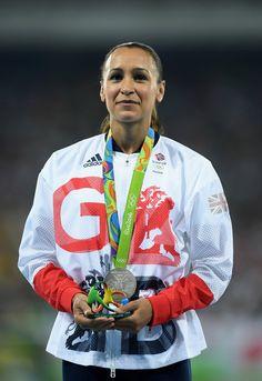 Great Britain's Jessica Ennis-Hill Wins Silver medal   Heptathlon Rio 2016 #GBR #TeamGB 8/13/16