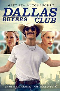 When does Dallas Buyers Club come out on DVD and Blu-ray? DVD and Blu-ray release date set for February Also Dallas Buyers Club Redbox, Netflix, and iTunes release dates. Based on a true story, Dallas Buyer's Club is set during the height of the . Dallas Buyers Club, Matthew Mcconaughey, Jennifer Garner, Streaming Hd, Streaming Movies, Timothy Olyphant, Movies And Series, Movies And Tv Shows, Great Films