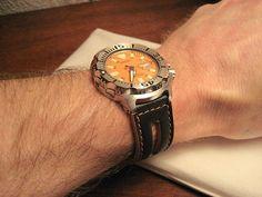 Orange Monster strap???? Seiko Monster, Watches, Orange, Accessories, Wristwatches, Clocks, Jewelry Accessories