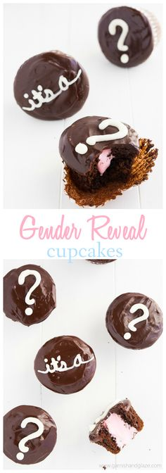 Gender Reveal Cupcakes | Garnish and Glaze