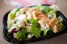 Fast food restaurants also offers healthy salads