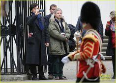 filming sherlock | Benedict Cumberbatch & Martin Freeman Film 'Sherlock' Season 3 ...