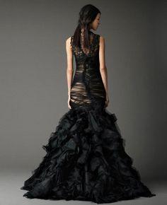 Black Wedding Dresses Vera Wang