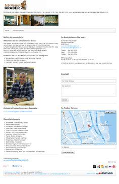 Schreinerei, Zürich, Innenausbau, Möbelschreinerei, Einbruchschutz, Glaserei