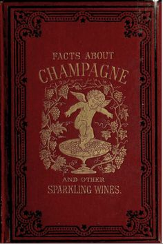 Book cover of Facts about Champagne and Other Sparkling Wines 1879 | by CharmaineZoe's Marvelous Melange