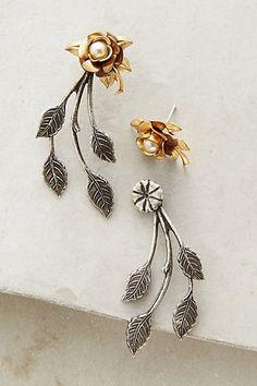 Sweetheart Rose Earrings #anthropologie