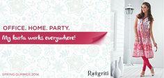 Any-time-pretty Rangriti #Kurta