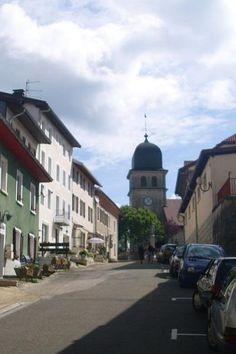 les Rousses l'église guide touristique du Jura Franche-Comté