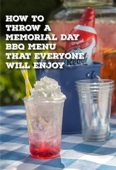 menu for memorial day bbq